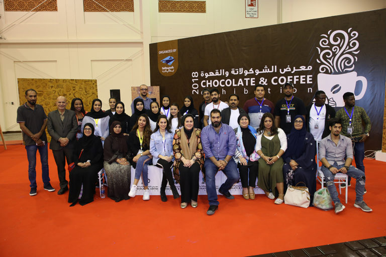 chocolate and coffee expo team